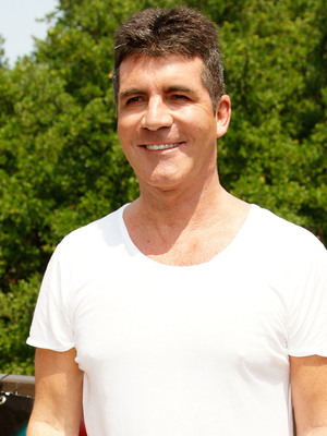 Simon Cowell arriving at The X Factor USA Texas Auditions at the Frank Erwin Center