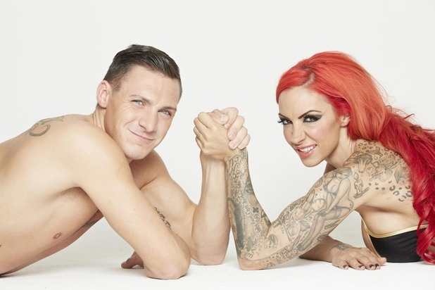 REVEAL ONLY Kirk Norcross and Jodie Marsh - Photoshoot for Reveal