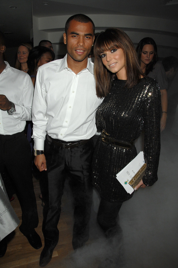 Ashley Cole and Cheryl Cole The White Room charity fundraiser,