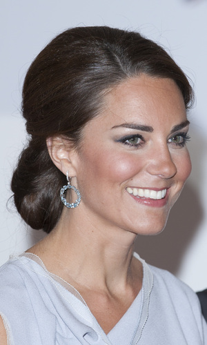 Miss Mode: Kate Middleton Up Do Front