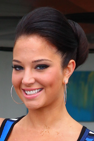 Tulisa Contostavlos leaving her hotel to attend X Factor 2012 auditions Cardiff, Wales - 25.06.12 Credit Mandatory: WENN.com