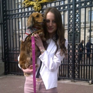 Made in Chelsea: Rosie Fortescue with Noodle