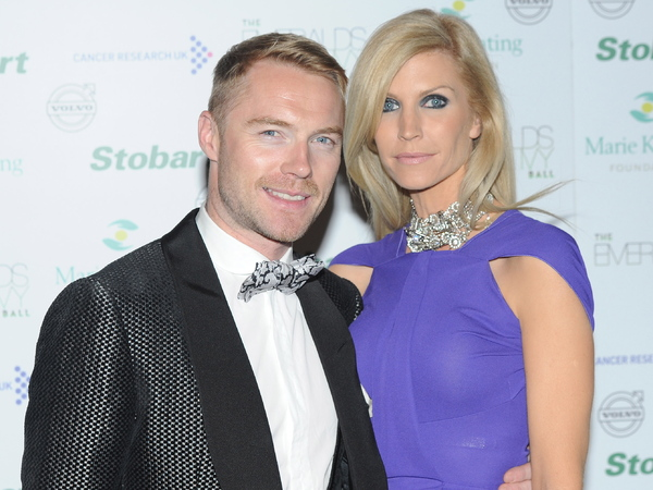 Ronan Keating and Yvonne Keating The Emeralds And Ivy Ball held at the Battersea Power Station - Arrivals. London, England - 11.12.10 Credit: (Mandatory): Daniel Deme / WENN.com