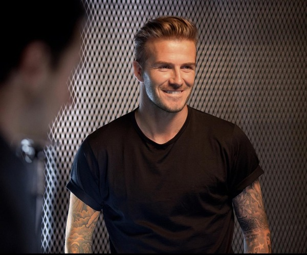 David Beckham posts photos on his Facebook page