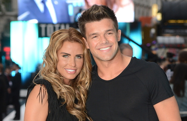 Katie Price and Leandro Penna London premiere of 'Total Recall' held at Vue Leicester Square - Arrivals London, England - 16.08.12 Credit: (Mandatory): WENN.com