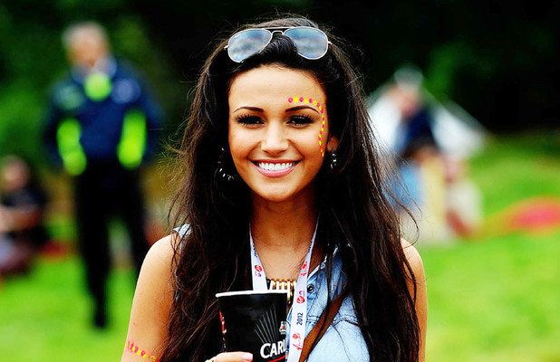 Michelle Keegan V Festival 2012 held at Weston Park - Performances - Day One Staffordshire, England - 18.08.12 ***No UK Tabloids, Available for The Rest of the World*** Mandatory Credit: WENN.com