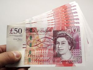 New British 50 banknote, London, Britain - 27 Nov 2011