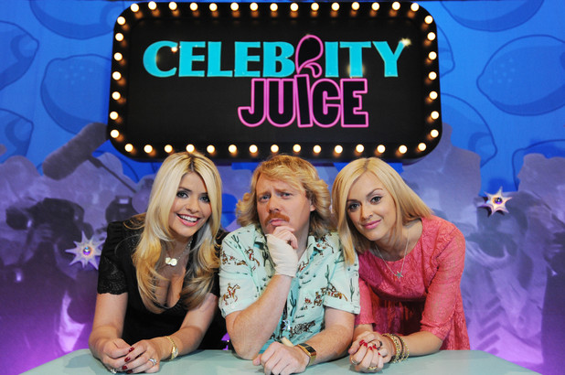 Celebrity Juice, Keith, Holly and Fearne, ITV2, Thu 30 Aug