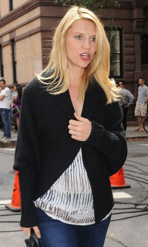 Claire Danes wraps up while out in New York - 4 September 2012