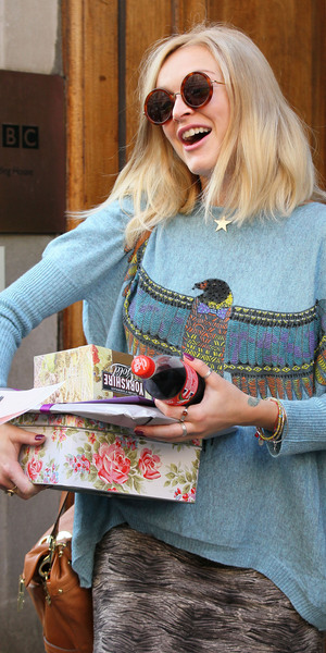 Fearne Cotton at the BBC Radio 1 studios London, England - 03.09.12 Mandatory Credit: WENN.com