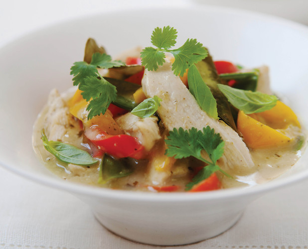 Hairy Bikers Thai chicken and coconut curry