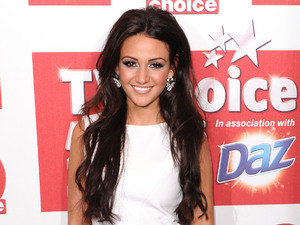 Miss Mode: White Dress Michelle Keegan