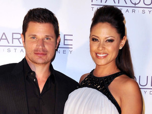 Nick Lachey and Vanessa Minnillo The launch of The Marquee nightclub at The Star - Arrivals Sydney, Australia - 01.04.12 ***Available for publication in the UK, USA, Germany, Austria & Switzerland***Not available for the Rest of the World*** Mandatory Credit: WENN.com
