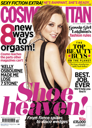 British Cosmopolitan October issue 2012