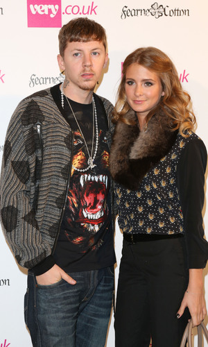 Professor Green and Millie Mackintosh London Fashion Week Spring/Summer 2013 - Very.co.uk - Arrivals London, England - 13.09.12 Mandatory Credit: Lia Toby/WENN.com