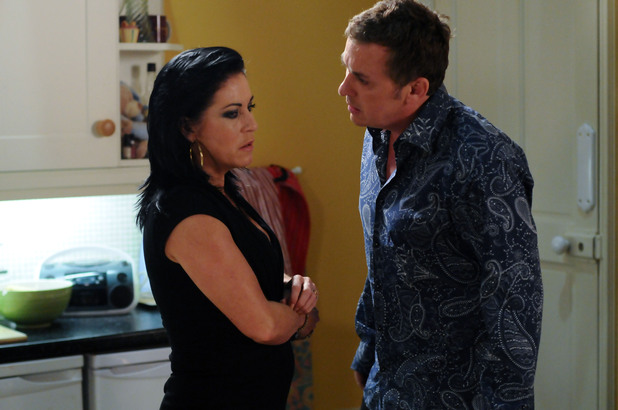 EastEnders, Alfie confronts Kat over her affair, Fri 14 Sep