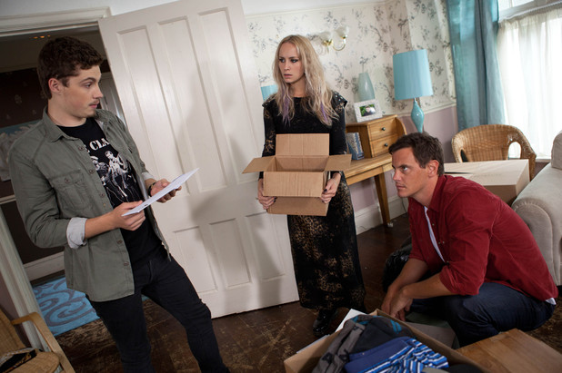 Hollyoaks, Callum finds Ally's letters, Wed 18 Sep