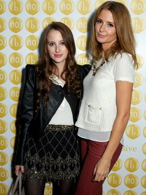 Millie Mackintosh and Rosie Fortescue - Boujis 10th Anniversary Party, Boujis, South Kensington, London, Britain - 20 Sep 2012