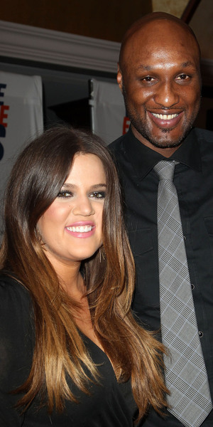 Lamar Odom, Khloe Kardashian 19th Annual Race to Erase MS held at the Hyatt Regency Century Plaza Century City, California - 05.18.12 Mandatory Credit: FayesVision/WENN.com