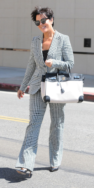 Kris Jenner out and about in Beverly Hills Los Angeles, California - 07.09.12 Mandatory Credit: LIFE/WENN.com