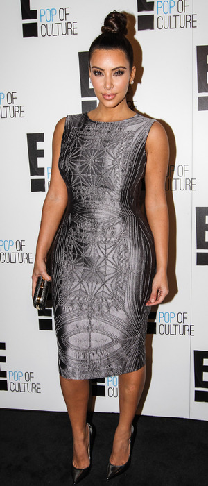 Kim Kardashian at E! Channel event at Neild Avenue restaurant in Rushcutters Bay, Sydney, Australia - 19 Sep 2012