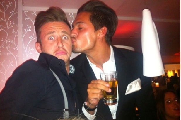 Danny Jones and Mario Falcone