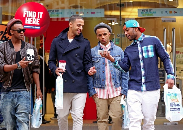 JLS buy the new iPhone