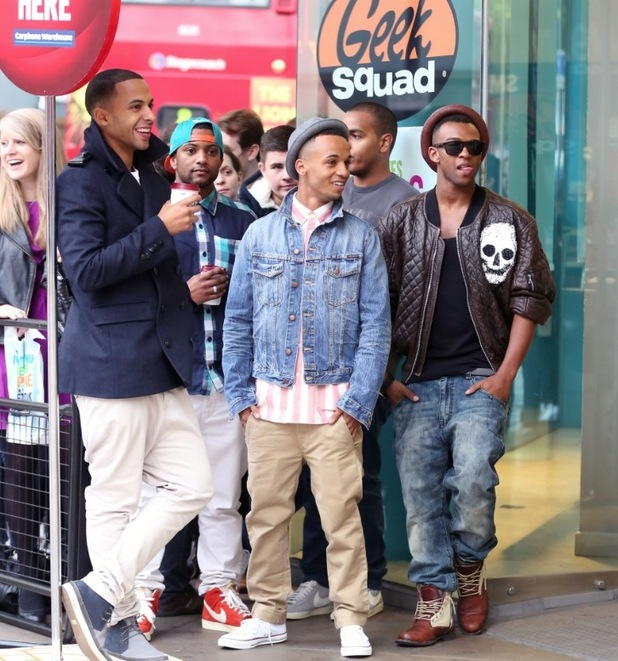 JLS queue for the iPhone 5