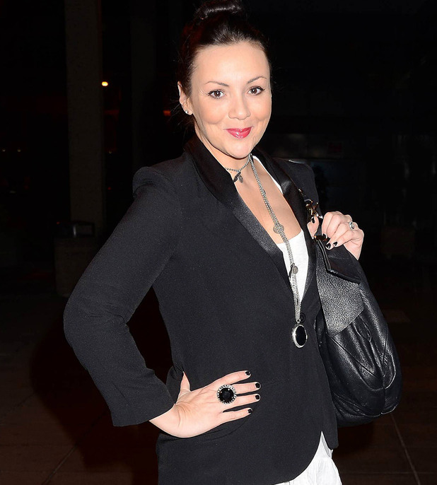 Martine McCutcheon at the Brendan O'Connor Saturday Night Show in Dublin Dublin, Ireland - 17.12.11 Mandatory Credit: WENN.com
