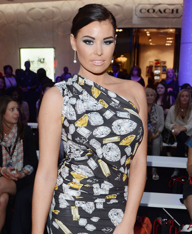 Jessica Wright at Vogue's Fashion's Night Out at Westfield, London, England- 06.09.12 Mandatory Credit: WENN.com
