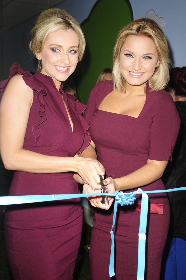 Sam Faiers and Gemma Merna open their FY Frozen Yoghurt shop, Ormskirk, Lancashire, Britain - 19 Sep 2012