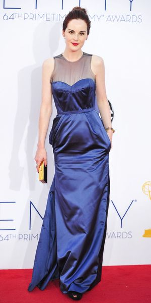The 64th Annual Primetime Emmy Awards, Arrivals, Los Angeles, America - 23 Sep 2012 Subhead: Michelle Dockery Supplementary info: Categories: Byline: Everett Collection/Rex Features