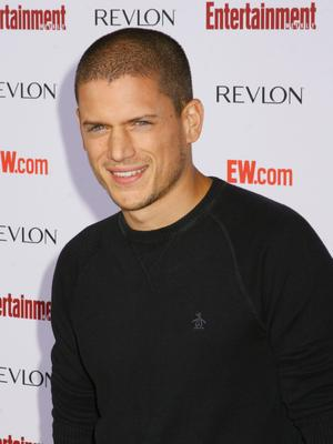 Wentworth Miller, bald guy debate