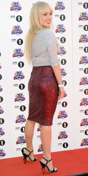 Jorgie Porter arrives at BBC Radio 1 Teen Awards 2012