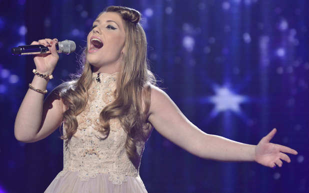 ella and george x factor dating show