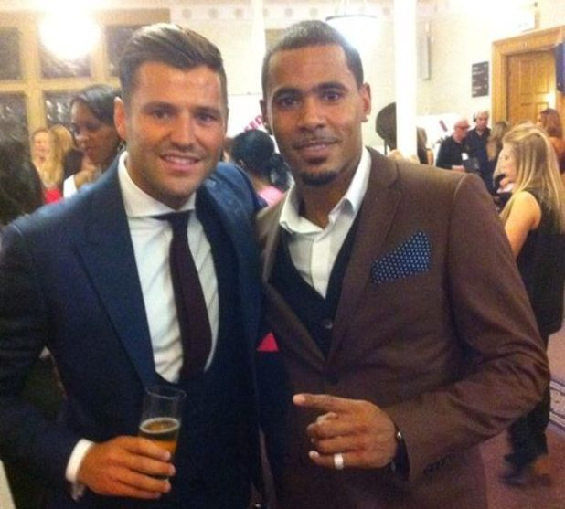 MC Harvey and Mark Wright at The Inspiration Awards For Women