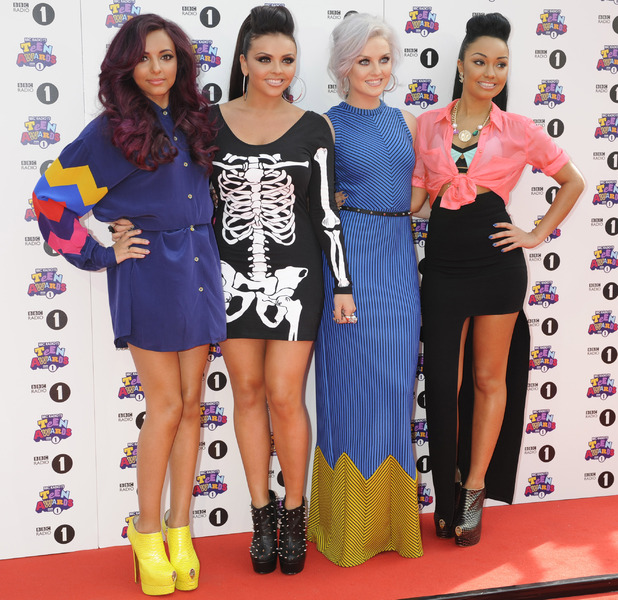 Little Mix arrive at BBC Radio 1 Teen Awards 2012