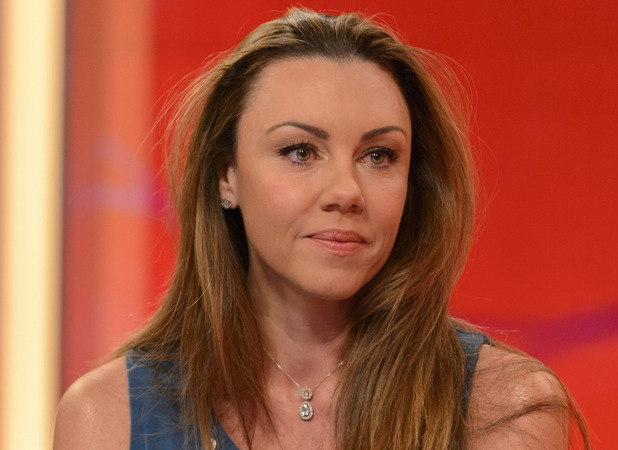 Michelle Heaton on ITV1&#39;s Lorraine 09.10.12
