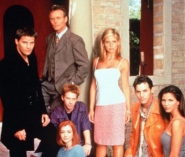 Cast shot of Buffy The Vampire Slayer