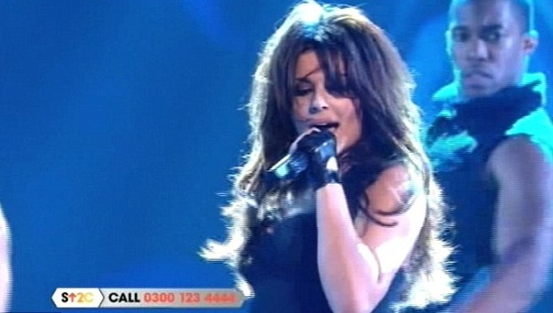 Cheryl Cole C4 stand up to cancer