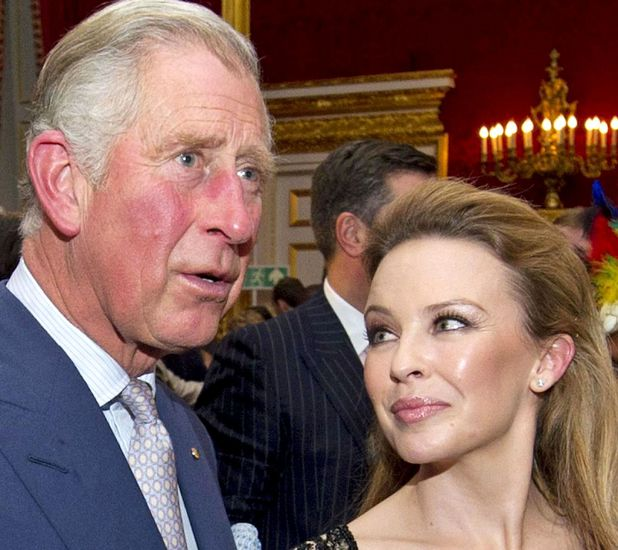 Kylie Minogue meets Prince Charles at St James Palace