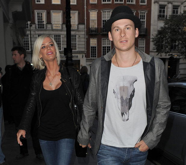 Lee Ryan and his girlfriend Samantha Miller leaving their Hotel. London, England - 14.04.10 Mandatory Credit: Will Alexander/WENN.com