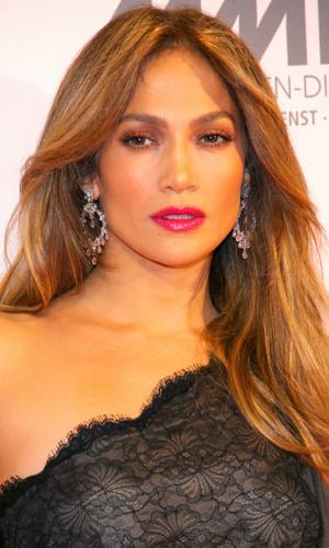 Jennifer Lopez at UNESCO charity gala at Maritim hotel. Düsseldorf, Germany
