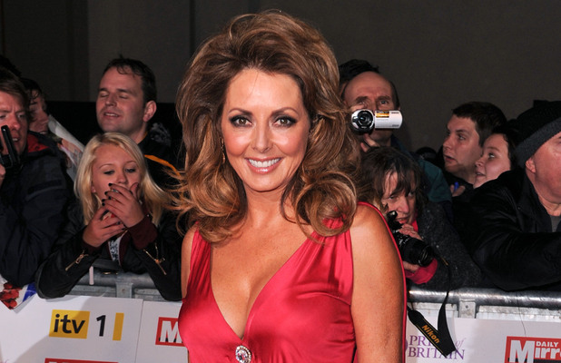 Carol Vorderman Pride of Britain