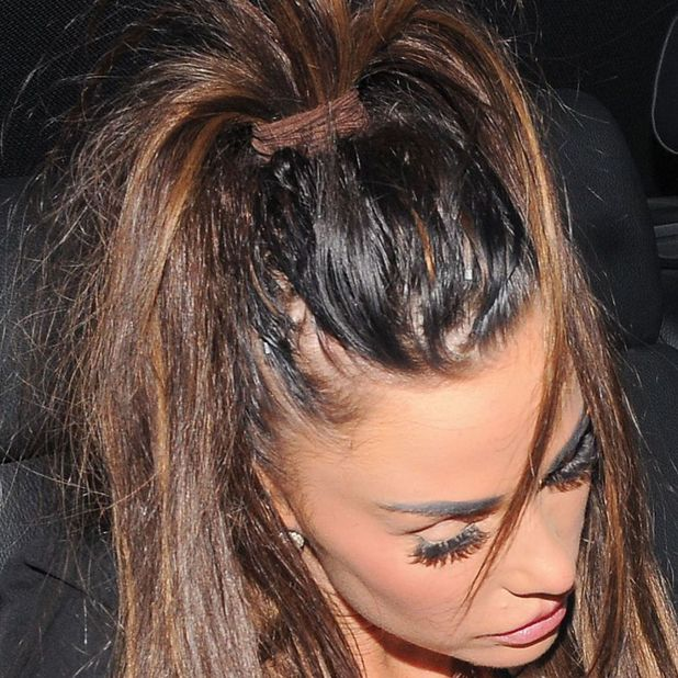 Katie Price Hair Extensions Gone Wrong