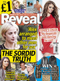 Reveal cover issue 45 - out 6 November 2012