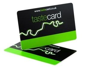 Tastecard membership shot