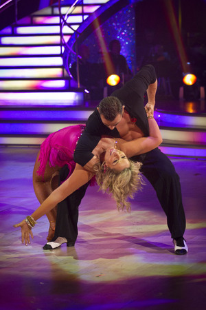 Fern Britton on Strictly Come Dancing week 7 live show, 10/11