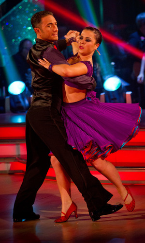 Dani Harmer on Strictly Come Dancing week 7 live show, 10/11