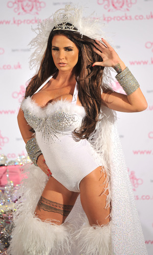 Katie Price Launches KP Rocks at the Worx Studios. London, England - 07.11.12 Mandatory Credit: Daniel Deme/WENN.com